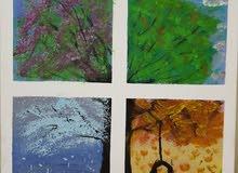 لوحة شجرة الفصول الأربعة