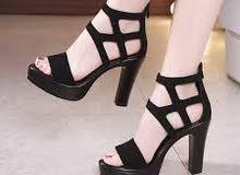 مجموعة احذية متنوعة نسائية كلها كعب عالي للبيع