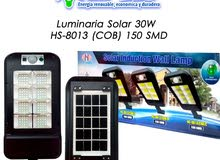 كشاف يعمل بالطاقة الشمسية ببطارية داخلية