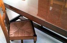 طاولة و6 كراسي صنع فرنسي