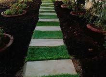 صيانة وزراعة الحدائق