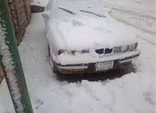 BMW لون ابيض كيو توماتيك رقم الماني شرط التحويل