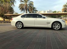 White BMW 740 2010 for sale