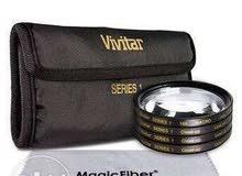 Vivitar Close-Up Macro Lens kit Set +1 +2 +4 +10