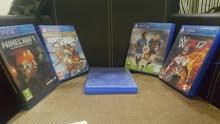 اشرطة PS4 للبيع