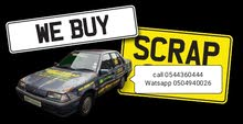 We buy scrap non working junk or damaged vehicles!!!