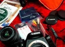 كاميرا كانون D550 نظيفة جدا وصناعة يابانيه