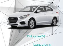 For a Month rental period, reserve a Hyundai Accent 2018