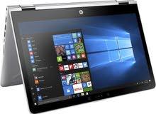 لابتوب شاشة لمس 360 درجة laptop hp pavilion x360 14 inch مستخدم