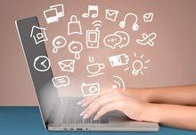 لتصميم الاعلانات بإحترافيه وتعديل الصور وخدمات التحرير النصية