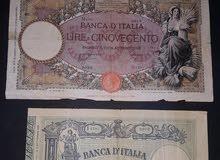 عملة ايطاليه كانت في ليبيا