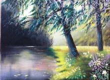 لوحة زيتية  40 × 30