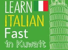 Italian Language teacher in Kuwait