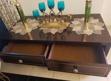 Table Stand with 2 drawers can be used as TV stand or middle coffee table