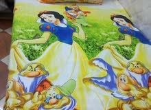 ملاية استيك لسرير اطفال 5d خامة قطن 100/100 مقاس مظبوط طبا الوان ثابتة وجميلة متوفر الوان ب