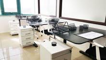 مكاتب مفروشة للأيجار / اصدار رخص مهن/غرف اجتماعات