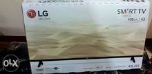 LG TV of New condition 43 inch