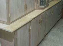 مطبخ مستعمل نظيف 3 متر