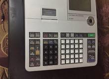 للبيع ماكينة محاسبه مع الخزينة