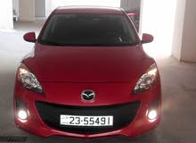Automatic Maroon Mazda 2012 for sale
