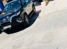 Toyota Fortuner car is available for  rent