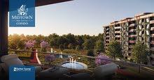 شقة بحري بميد تاون كندو العاصمة الادارية أفضل كمباوند