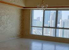 شقة للإيجار  في برج الدانة غرفتين وصالة   تكييف مجاني  برج مميز على بحيرة خالد