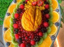 ترايفل الفواكه
