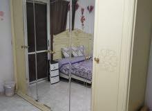 غرفة نوم تحفة اوف وايت خشب زان استعمال خفيف