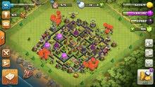 قرية كلاش اوف كلانس بيت 8 المباني كلها ماكس ماعده بعض الجنود تحتاج ترقيه والجدار