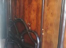 غرفه نوم تفصيل خشب لاتيه وزان قشره + فرشه ضغط18