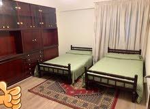 شقة مفروشة150متر فرش كلة جديد للايجارمتفرعة من شارع النصرالمعادى الجديدة بجواجميع الخدمات