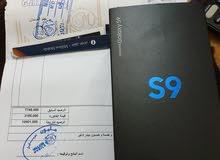 SAMSUNG S9 جديد متع الوكيل دبل شفره ولونه قرل