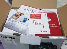Canon 600D  weth  18-55mm kit lens full box  new camra