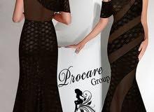 فستان جلد موديل 2737 بحالة جيدة للبيع