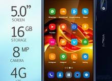 جهاز نوكيا 3 4G كامل اغراضه للبيع او البدل