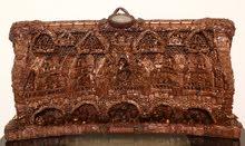 لوحات فنيةخشبية تركبية نافرة مصنوعة من اشجار الصنوبر الخالص