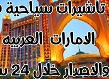 تأشيرات سياحية الى دولة الامارات العربية المتحدة