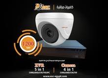 كاميرا مراقبة بمستلزماتها ب اقل سعر