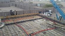 مقاول بناء منازل في عدن تشطيب كامل تأسيس مسلح و شعبي