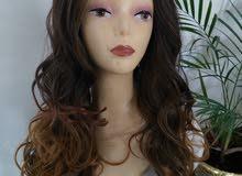 باروكات شعر طبيعي للبيع وباسعار مناسبه
