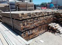 خشب طوبار وجكات جديد ومستعمل وكل ما يلزم المقاول وشركات التعهدات