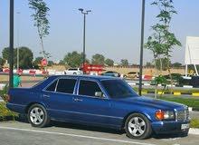 مرسيدس se300 م91 ازرق اللون