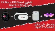 Airbuds+ watch +D18 smart+VR Box