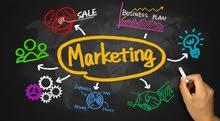 مندوبات مبيعات  وتسويق للعمل في مؤسسة دعاية واعلان ومطبعة