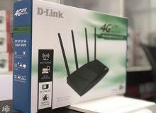 راوتر D-Link 4g lte ممتاز جداً وبسعر مناسب اصلي ضمان سنه