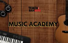 Music Academy (Piano, Guitar, Drums)