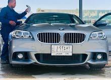 بي ام دبليو فئة الخامسه 535i 2016 للبيع او المراوس