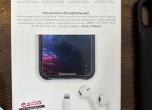 بطارية ايفون اكس علي صورة كفر iphone x battery casr