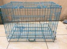 قفص كبير للقطط والجراء والطيور وغيرها........ LARGE CAGE FOR CATS,Puppies,birds etc